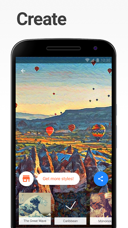Screenshot Prisma APK