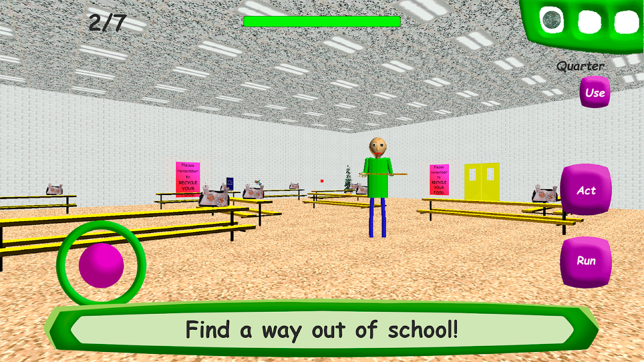 Screenshot Baldi's Basics in Education APK