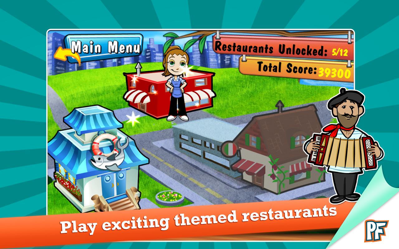 Screenshot Cooking Dash Deluxe APK