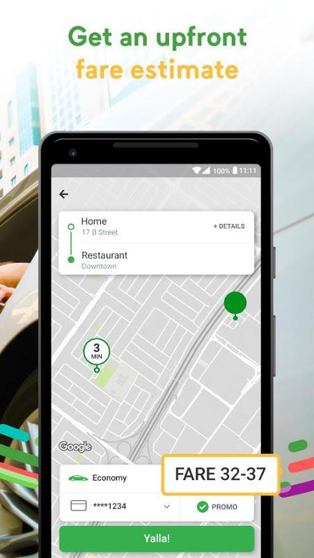 Screenshot Careem - Car Booking App APK