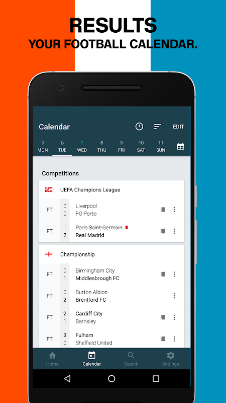 Forza Football - Live scores The App Store android Code Lads