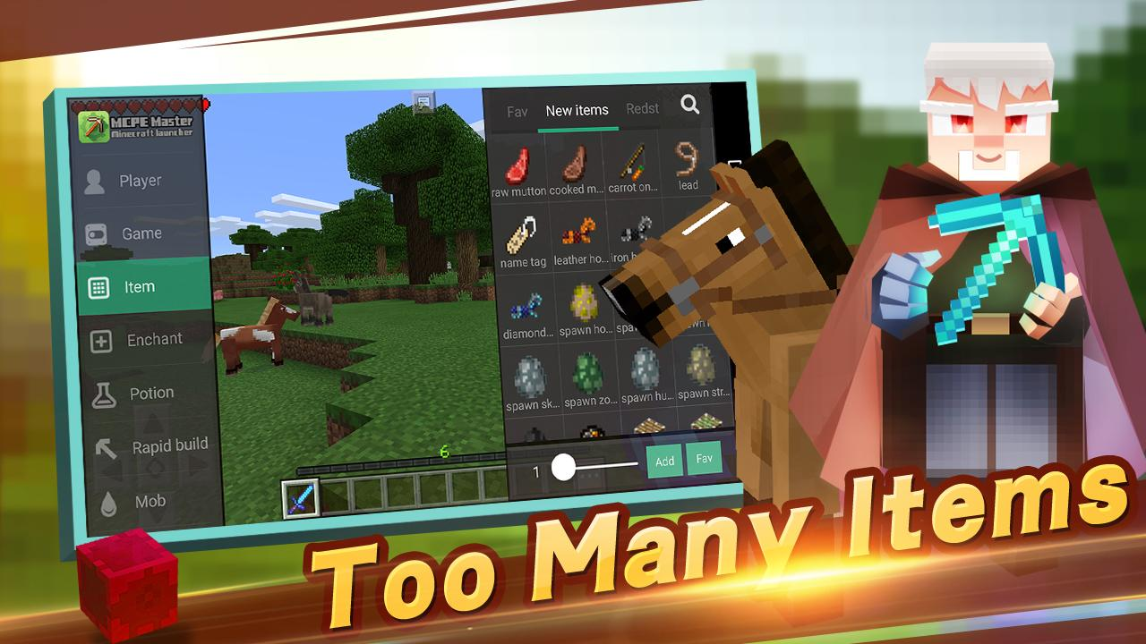 Master for Minecraft- Launcher The App Store