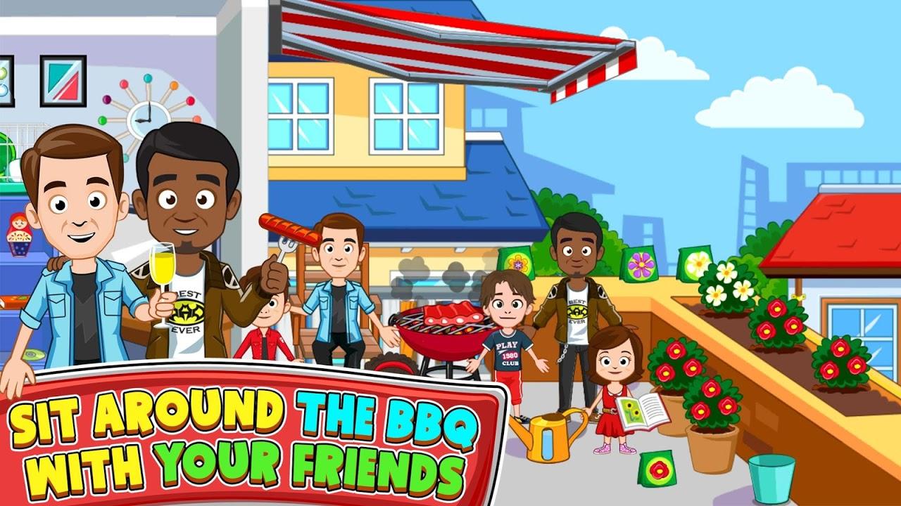 Screenshot My Town : Best Friends' House APK