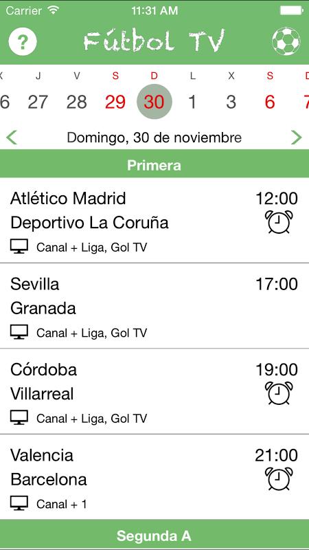 Futbol TV The App Store