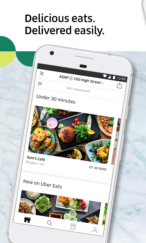 Uber Eats: Local food delivery The App Store