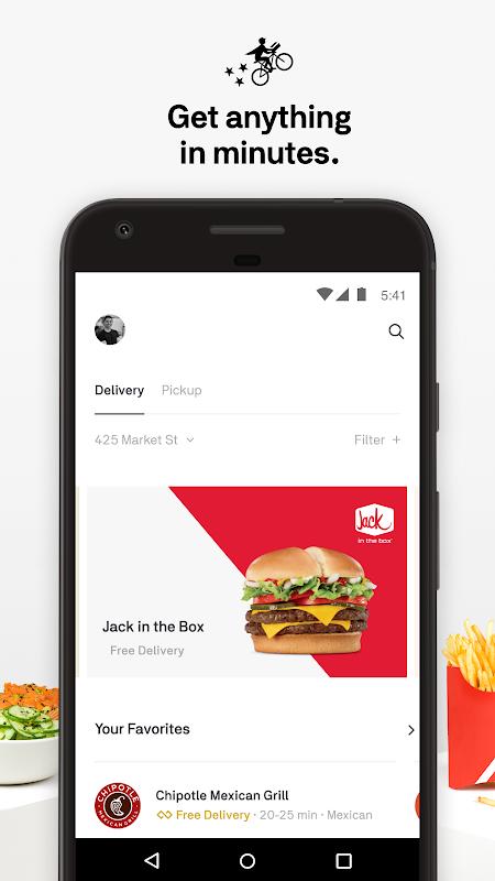 Screenshot Postmates Food Delivery: Order Eats & Alcohol APK