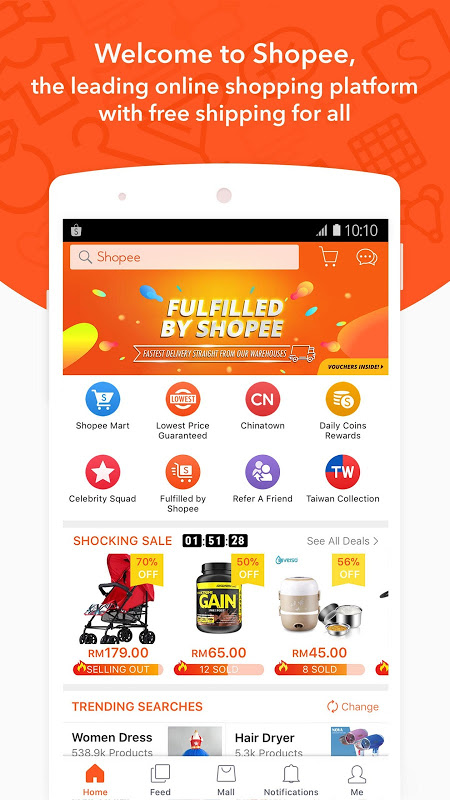 Screenshot Shopee MY: Buy and Sell Online APK