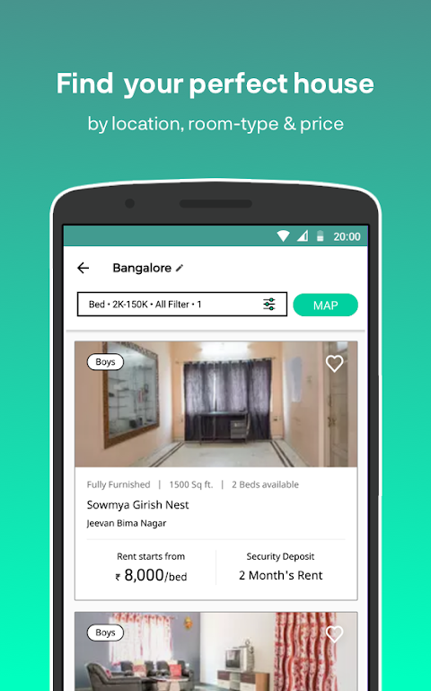Nestaway - Rent furnished house, Room or Bed 👍 The App Store