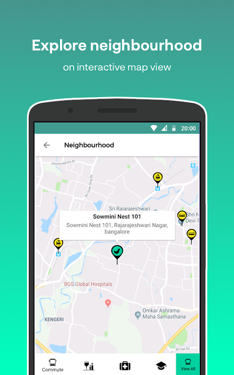 Nestaway - Rent furnished house, Room or Bed 👍 The App Store android Code Lads