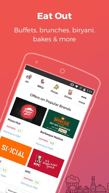 nearbuy.com- Restaurant, Spa, Movie & Hotel Offers The App Store android Code Lads