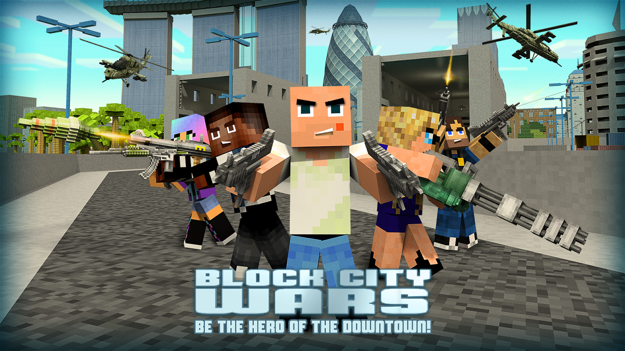 Block City Wars The App Store android Code Lads