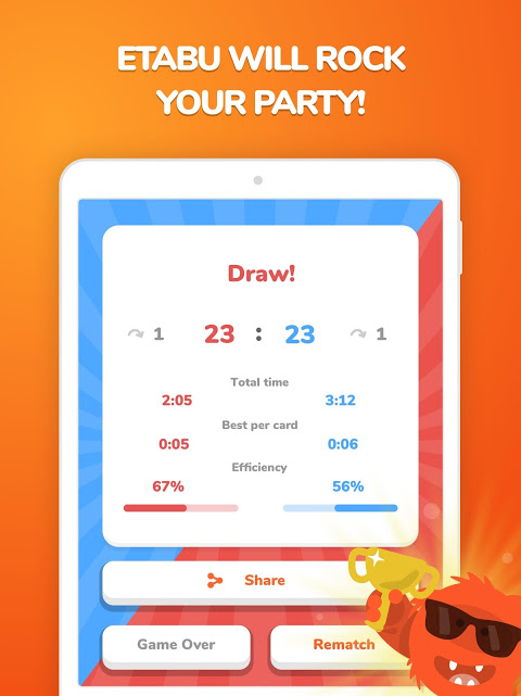 Screenshot eTABU - a party well played! APK