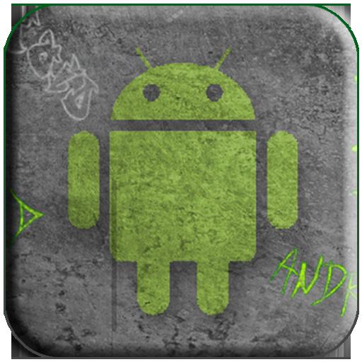 Androids Cool Graffiti
