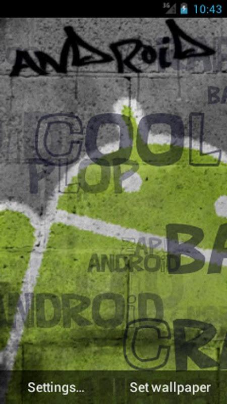 Screenshot Androids Cool Graffiti APK
