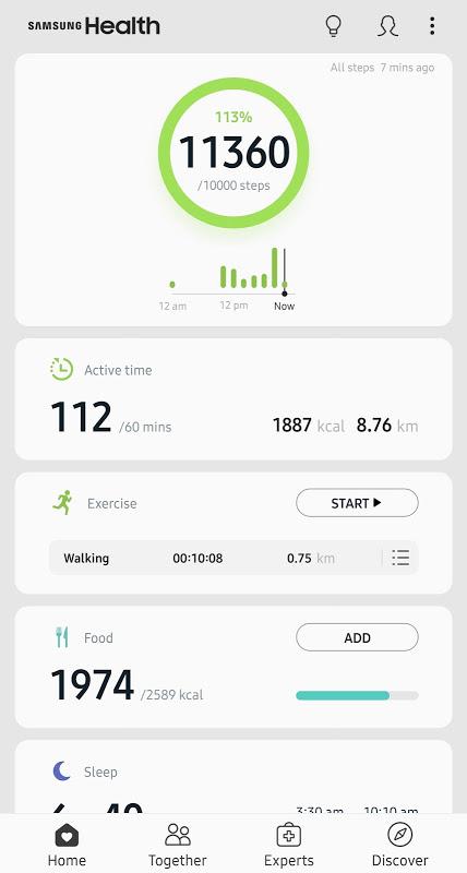 Samsung Health The App Store