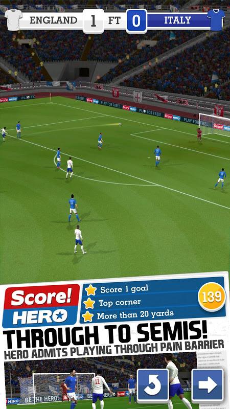 Score! Hero The App Store