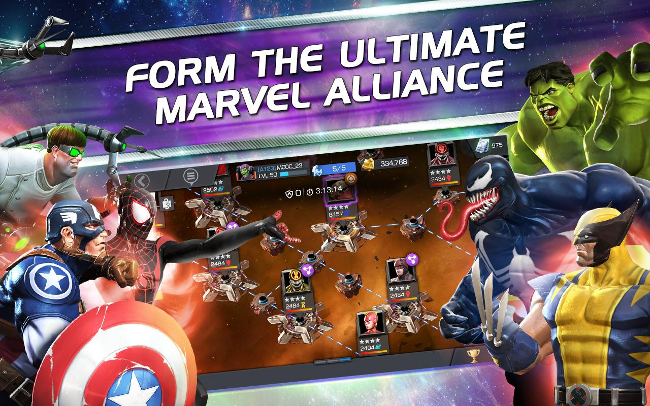 MARVEL Contest of Champions The App Store android Code Lads