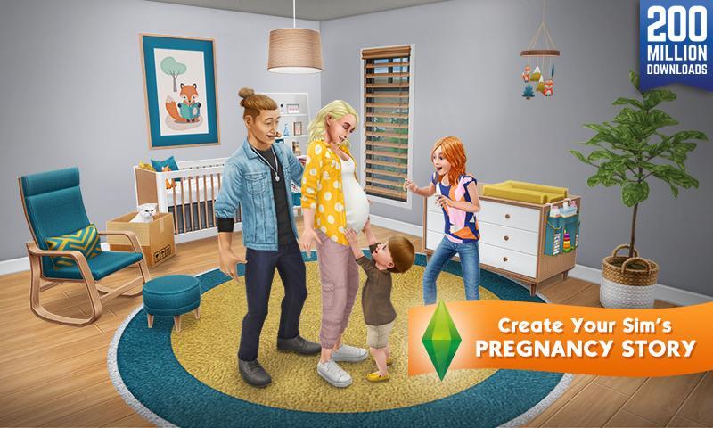 Screenshot The Sims FreePlay APK