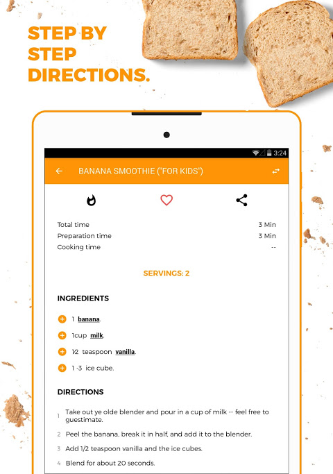 Recipe Book: Recipes & Shopping List The App Store android Code Lads