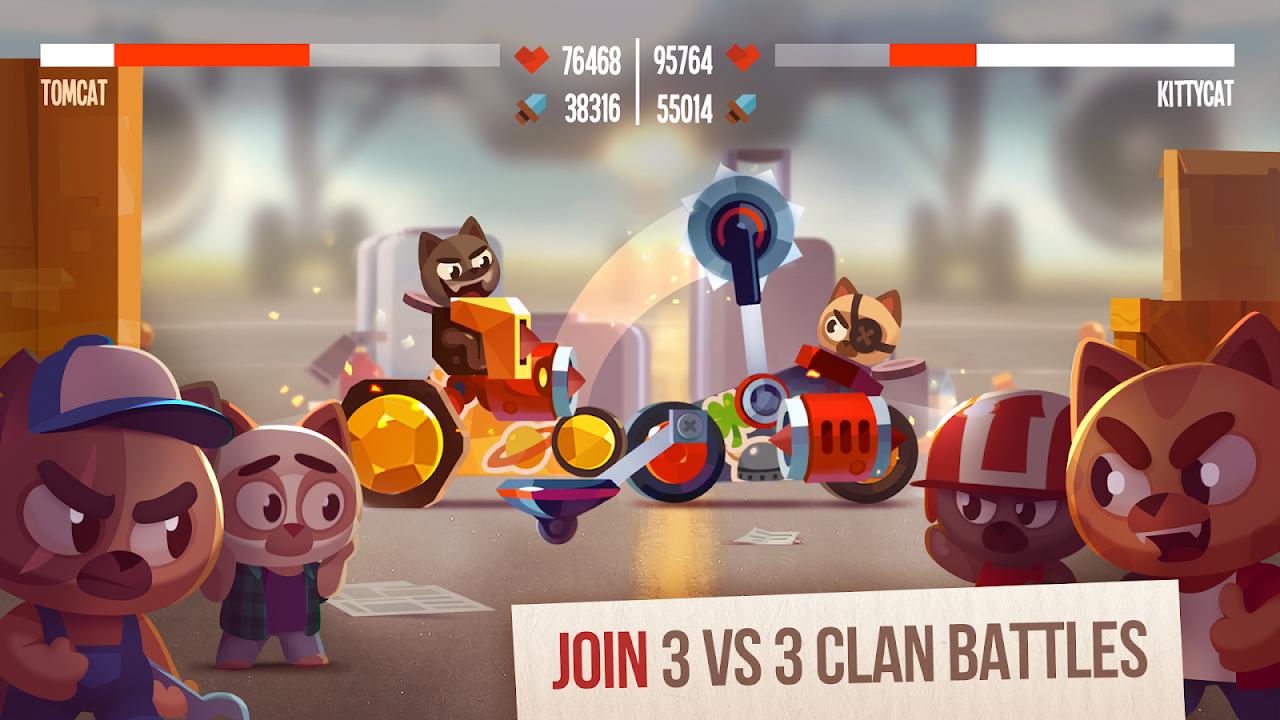 Screenshot CATS: Crash Arena Turbo Stars APK