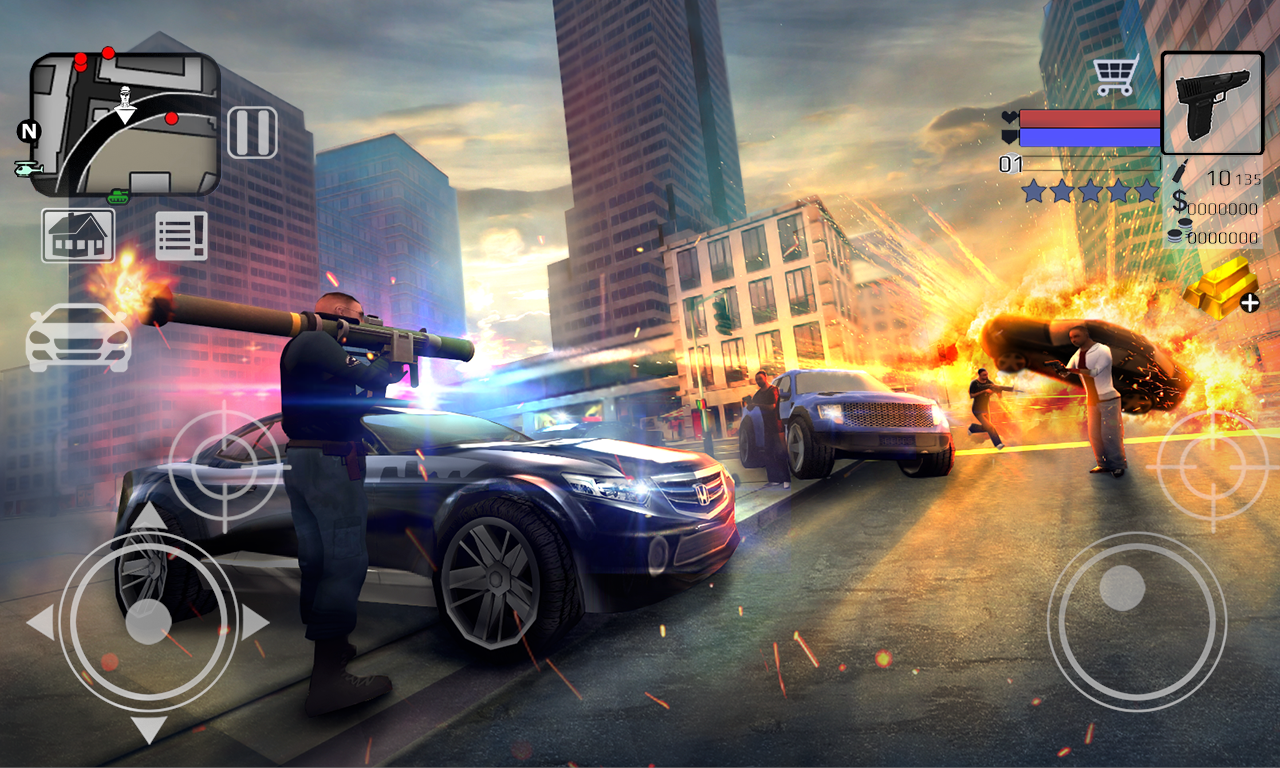 Screenshot Police vs Gangster New York 3D #Msi8Store APK