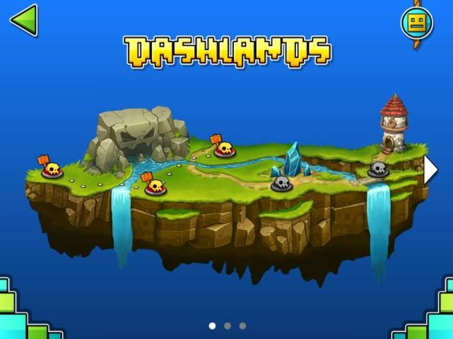 Screenshot Geometry Dash World APK