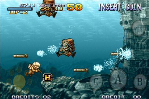 Screenshot METAL SLUG 3 APK