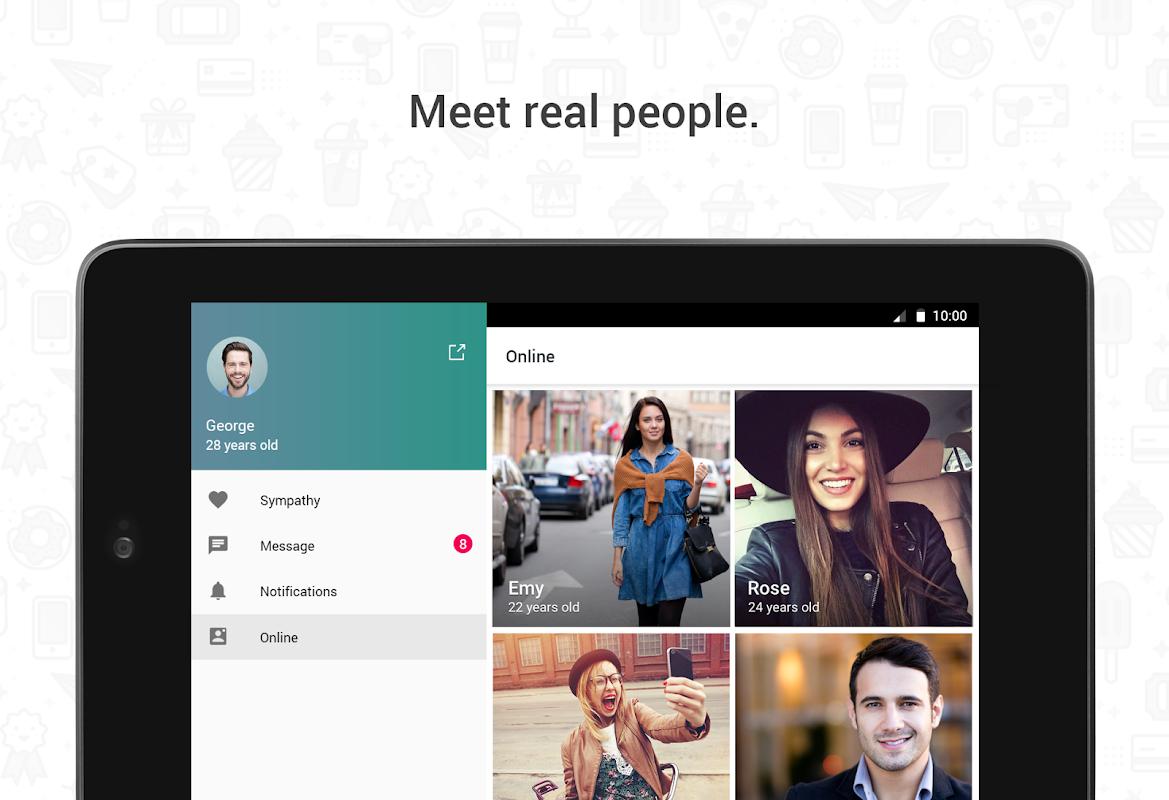 Screenshot Hitwe – meet people and chat APK