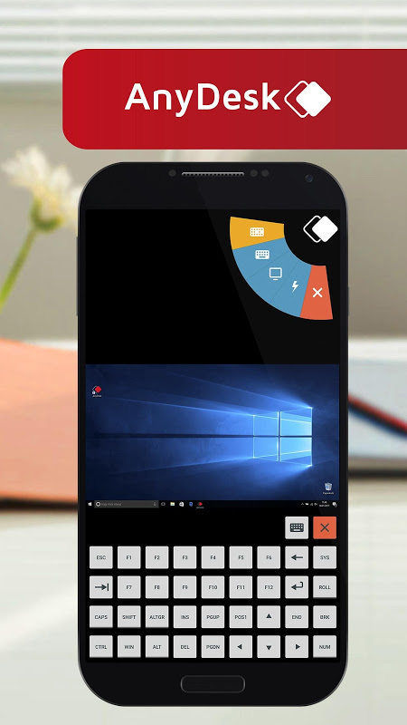 Screenshot AnyDesk remote PC/Mac control APK