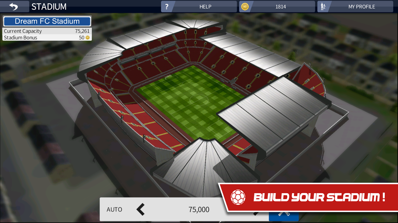 Screenshot Dream League Soccer 2017 APK