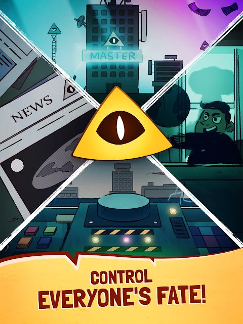 Screenshot We Are Illuminati - Conspiracy Simulator Clicker APK