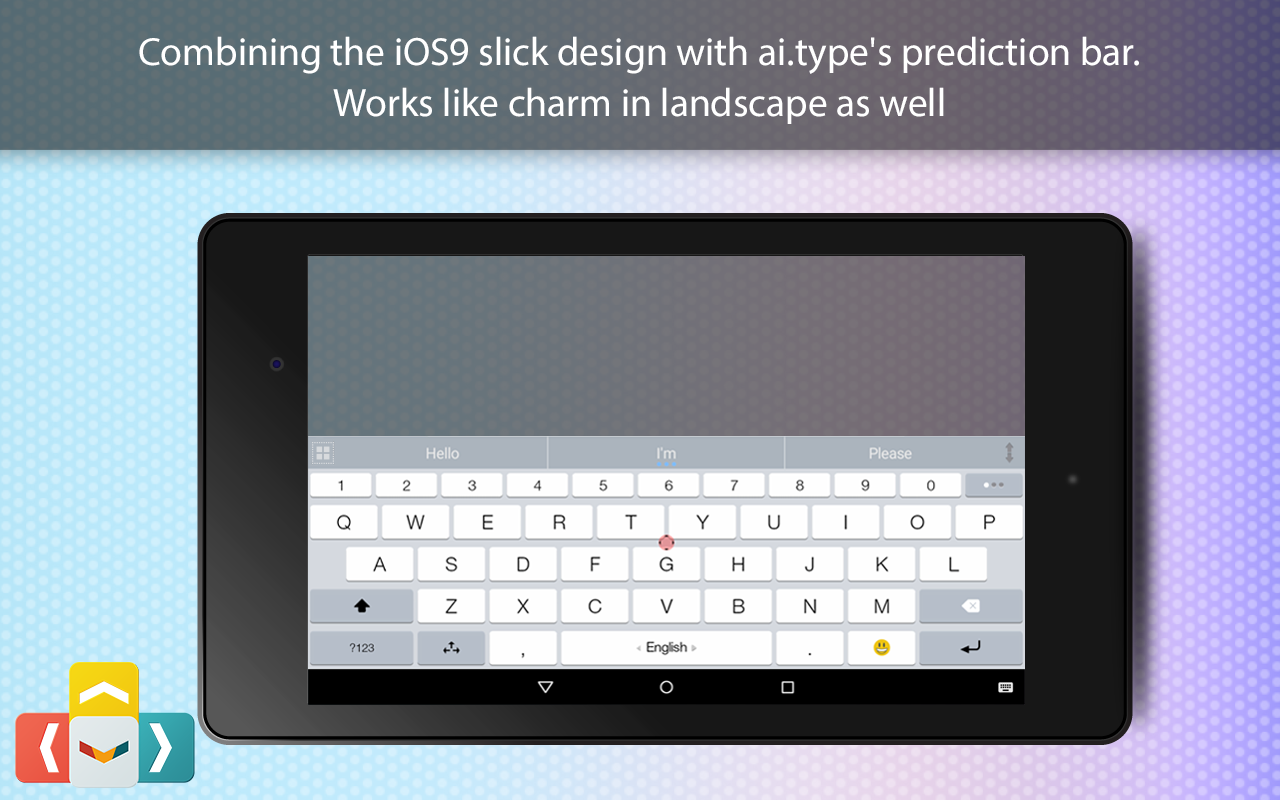 ai.type OS 12 Keyboard Theme The App Store android Code Lads