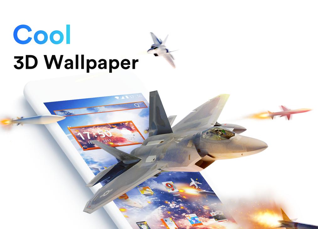 Screenshot ME Launcher - Theme & 3D Wallpaper, Fast APK