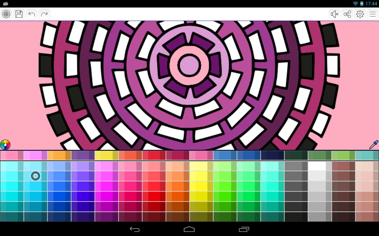 Screenshot Mandalas coloring pages (+200 free templates) APK