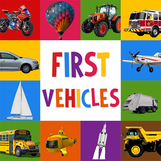 First Words for Baby: Vehicles