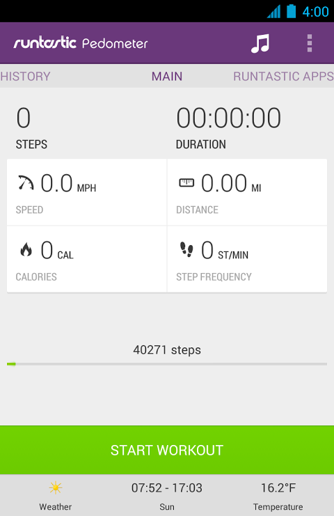 Runtastic Pedometer PRO The App Store android Code Lads