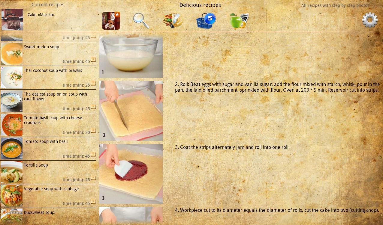 Delicious recipes The App Store
