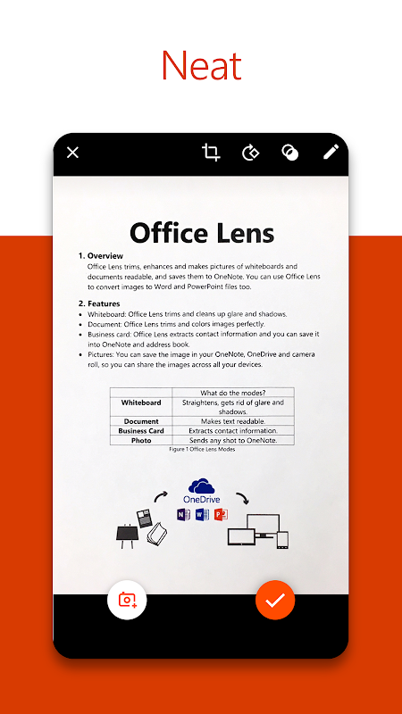 Microsoft Office Lens - PDF Scanner The App Store android Code Lads