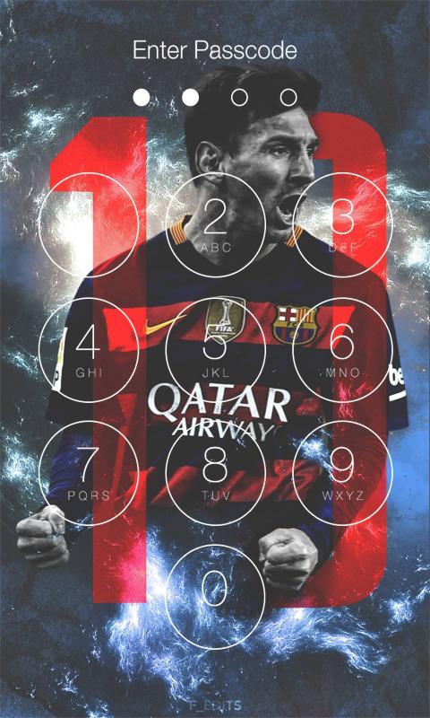 Screenshot Lionel Messi Lock Screen : Leo Messi APK