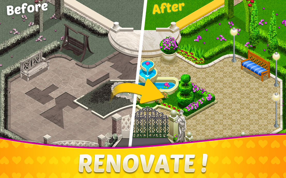 Home Sweet Home Design & Match 3 House Games Manor The App Store