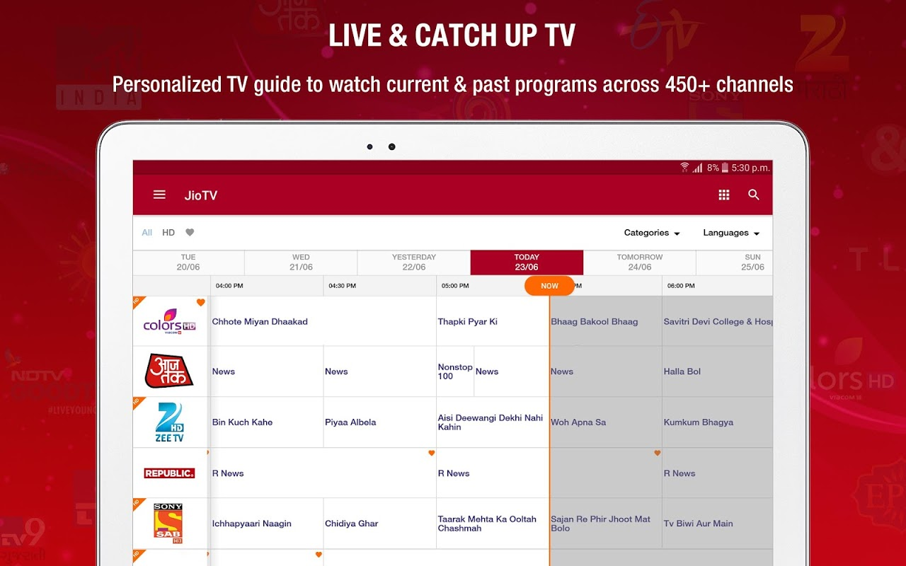 JioTV Live Sports Movies Shows The App Store