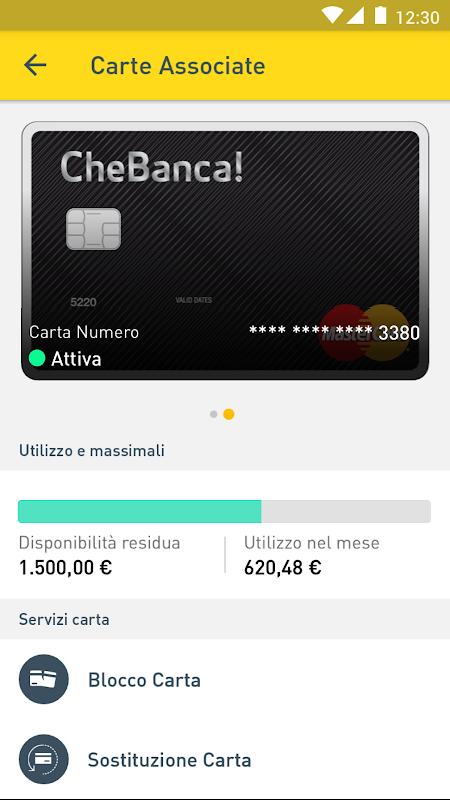 Screenshot CheBanca! APK