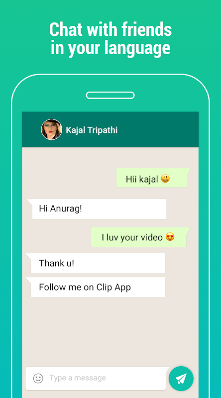 Clip India - Videos, Status, Friends, Share & Chat The App Store