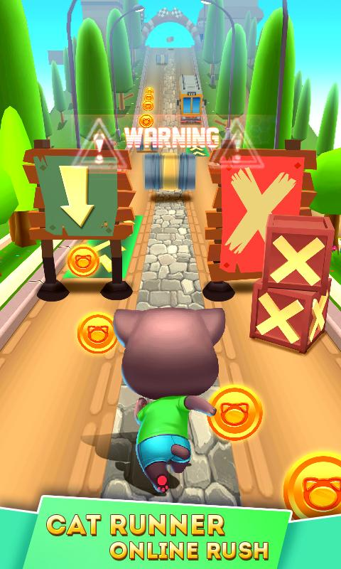 Cat Runner: Decorate Home The App Store android Code Lads