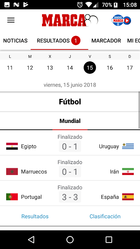 MARCA - Diario Líder Deportivo The App Store android Code Lads