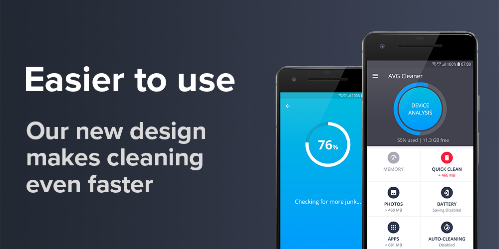 Screenshot AVG Cleaner – Clean out junk & free up storage APK