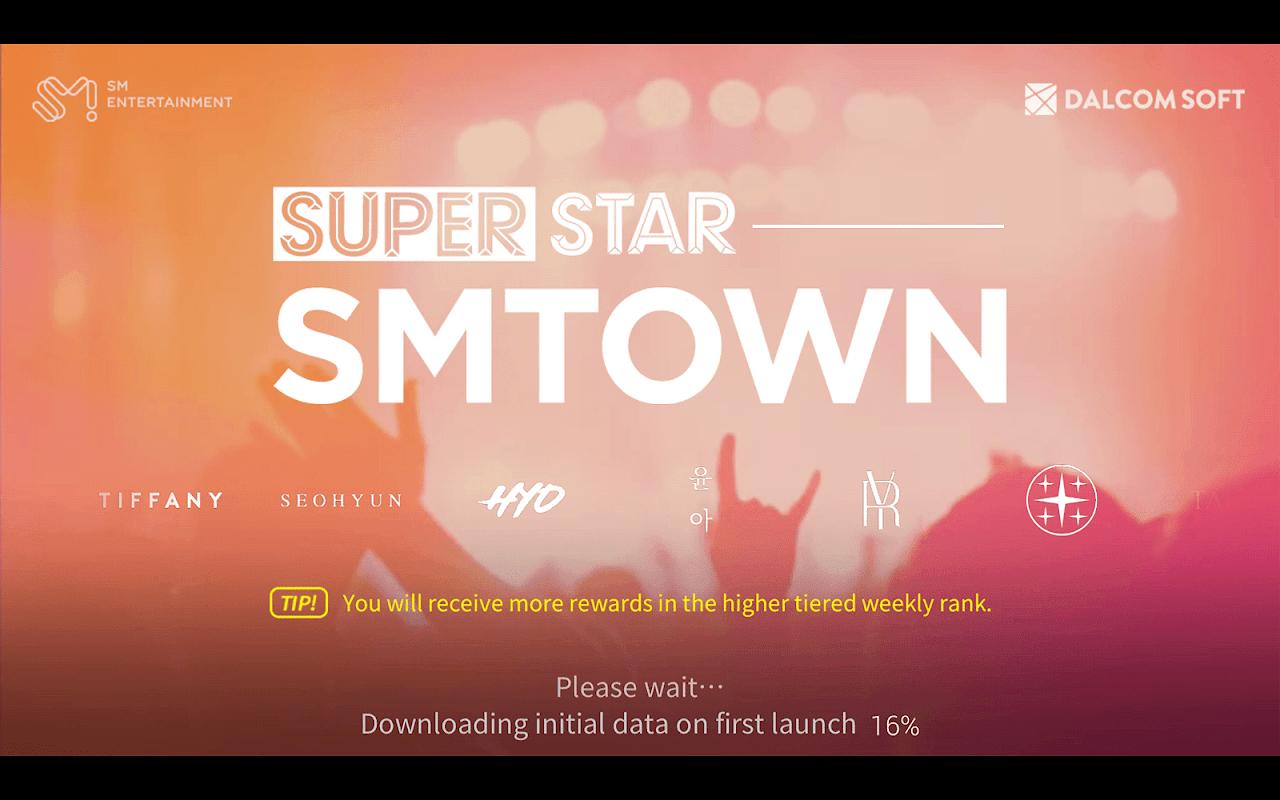 Screenshot SuperStar SMTOWN APK