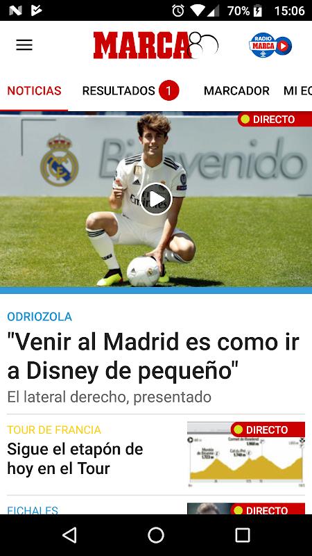 MARCA - Diario Líder Deportivo The App Store