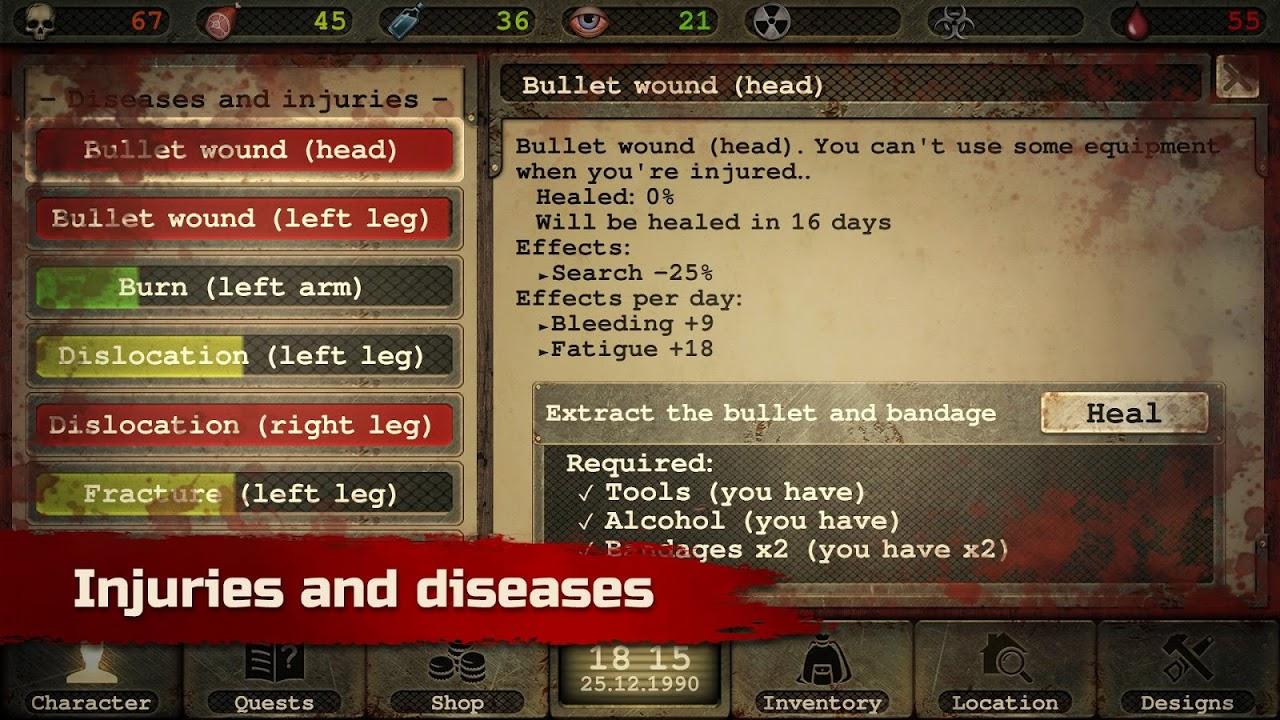Screenshot Day R Survival – Apocalypse, Lone Survivor and RPG APK