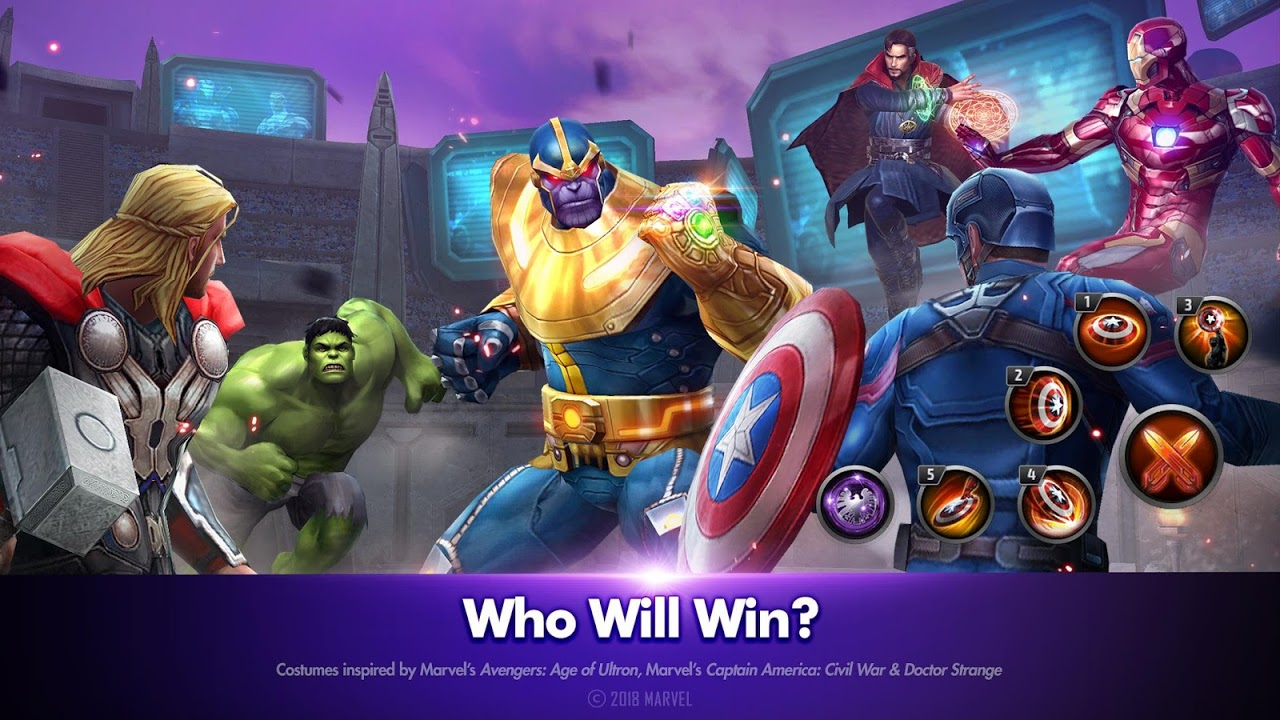 MARVEL Future Fight The App Store